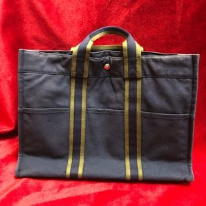 Authentic Hermès tote bag